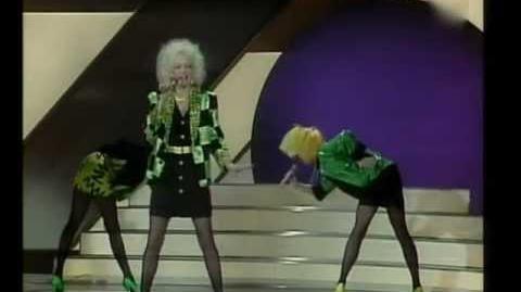 Eurovision 1984 - United Kingdom - Belle & The Devotions - Love games -HQ SUBTITLED-