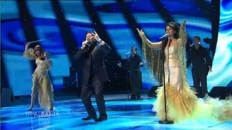 Eurovision 2007 Semi-Final 11 - Frederic Ndoci - Hear My Plea - Albania