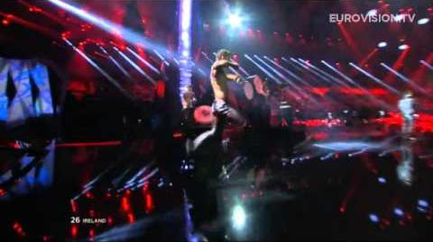 Ryan Dolan - 'Only Love Survives' (Live at Eurovision 2013 Final)