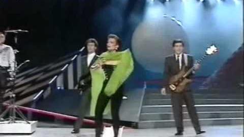 Eurovision 1987 Spain - Patricia Kraus - No estas solo