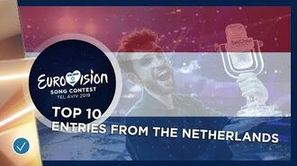 TOP 10- Entries from The Netherlands - Eurovision Song Contest