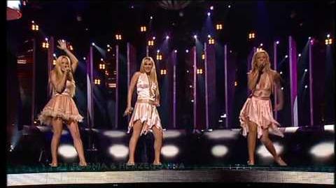 Eurovision 2005 Final 21 Bosnia & Herzegovina *Feminnem* *Call Me* 16 9 HQ