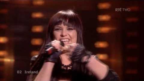 "Eurovision 2009 - Ireland - Sinéad Mulvey & Black Daisy - ""Et Cetera"" - Semi Final 2"