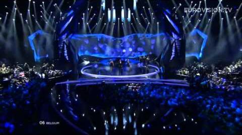 Roberto Bellarosa - Love Kills (Belgium) - LIVE - 2013 Grand Final