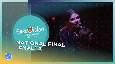 Christabelle - Taboo - Malta - National Final Performance - Eurovision 2018
