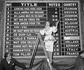 1960 scoreboard
