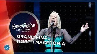 North Macedonia - LIVE - Tamara Todevksa - Proud - Grand Final - Eurovision 2019