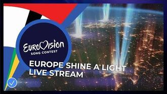 Eurovision- Europe Shine A Light - Live Stream