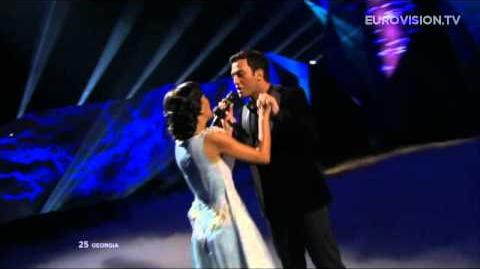 Nodi Tatishvili & Sophie Gelovani - Waterfall (Georgia) - LIVE - 2013 Grand Final