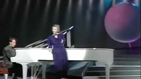 Eurovision 1987 Iceland - Halla Margret - Hægt og hljótt