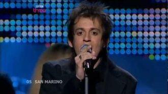 Eurovision 2008 San Marino HD- Miodio - Complice.