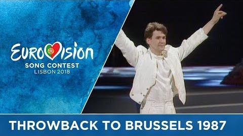-ThrowbackThursday to 30 years ago- The 1987 Eurovision Song Contest in Brussels
