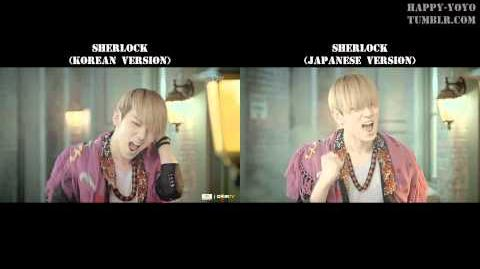 HD Sherlock (Split Headset&Screen MV Version) - SHINee