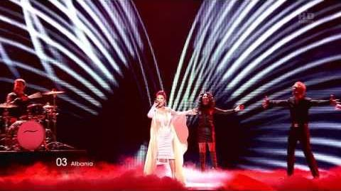 HD EUROVISION 2011 ALBANIA - AURELA GAÇE - FEEL THE PASSION (1ST SEMI-FINAL)