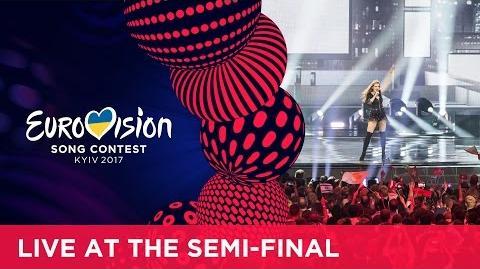 Jana Burčeska - Dance Alone (F.Y.R. Macedonia) LIVE at the second Semi-Final
