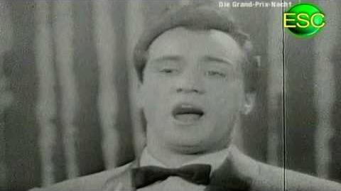 ESC 1957 04 - Italy - Nunzio Gallo - Corde Della Mia Chitarra