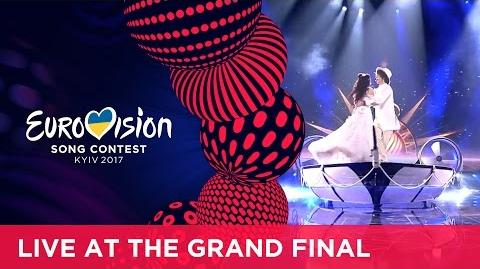 Naviband - Story Of My Life (Belarus) LIVE at the Grand Final of the 2017 Eurovision Song Contest