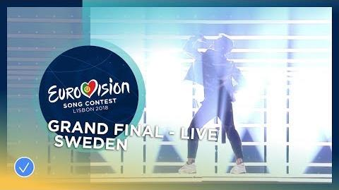 Benjamin Ingrosso - Dance You Off - Sweden - LIVE - Grand Final - Eurovision 2018