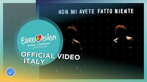 Ermal Meta e Fabrizio Moro - Non Mi Avete Fatto Niente - Italy - Official Music Video
