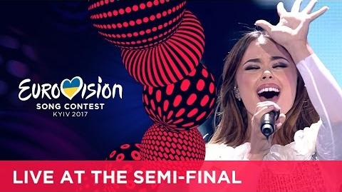 Lindita - World (Albania) LIVE at the first Semi-Final