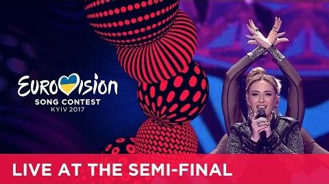 Artsvik - Fly With Me (Armenia) LIVE at the first semi-final
