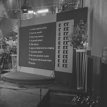 Eurovision Song Contest 1958 - Scoreboard