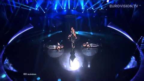 Hannah - Straight Into Love (Slovenia) - LIVE - 2013 Semi-Final (1)