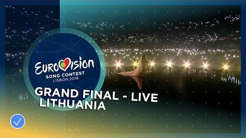 Ieva Zasimauskaitė - When We're Old - Lithuania - LIVE - Grand Final - Eurovision 2018