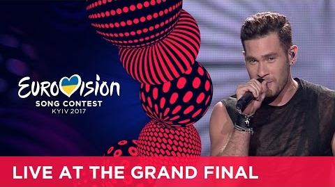 IMRI - I Feel Alive (Israel) LIVE at the Grand Final of the 2017 Eurovision Song Contest