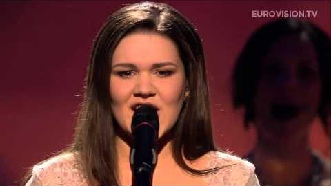 Dina Garipova - What If (Russia) - LIVE - 2013 Semi-Final (1)