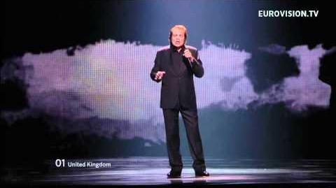 Engelbert Humperdinck - Love Will Set You Free - Live - Grand Final - 2012 Eurovision Song Contest
