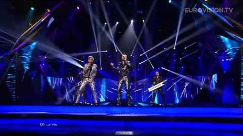 PeR - Here We Go (Latvia) - LIVE - 2013 Semi-Final (2)