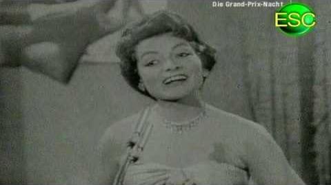 ESC 1957 10 - Switzerland - Lys Assia - L'Enfant Que J'Étais