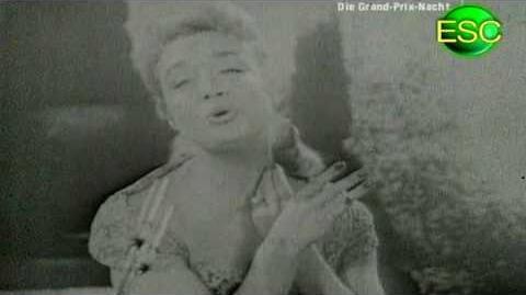 ESC 1957 08 - France - Paule Desjardins - La Belle Amour