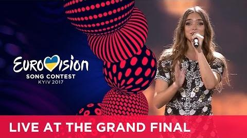 Alma - Requiem (France) LIVE at the Grand Final of the 2017 Eurovision Song Contest