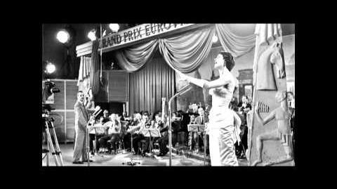 Voorgoed Voorbij - Corry Brokken - Netherlands Holland 1956 (Audio Version)