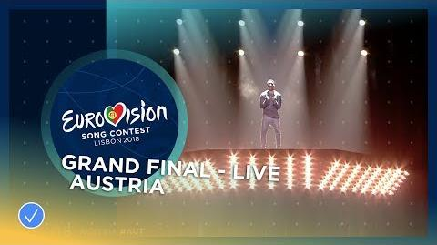 Cesár Sampson - Nobody But You - Austria - LIVE - Grand Final - Eurovision 2018