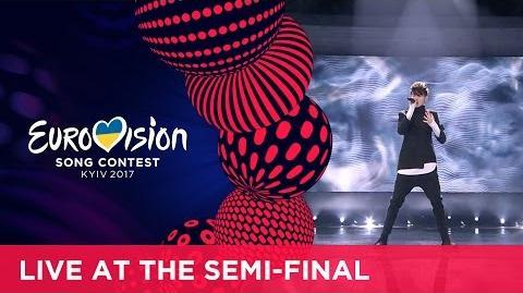 Kristian Kostov - Beautiful Mess (Bulgaria) LIVE at the second Semi-Final