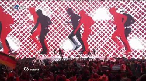 HD Eurovision 2011 Ireland Jedward - Lipstick (Final)