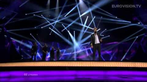 Andrius Pojavis - Something (Lithuania) - LIVE - 2013 Grand Final-1