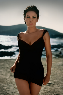 Bleona Qereti's Ibiza photo shoot by Vincent Peters (01)