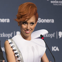 Aliona Moon, ESC2013 press conference 08