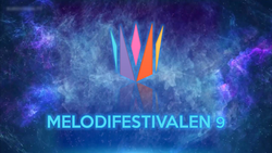 Melodifestivalen 9 logo