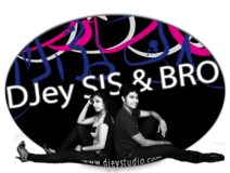 DJey SIS & BRO Logo black&white