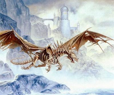 Skeletal Dragon