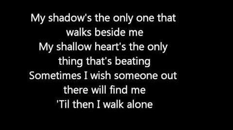Green Day -Boulevard of Broken Dreams lyrics