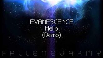 Evanescence - Hello (Demo)