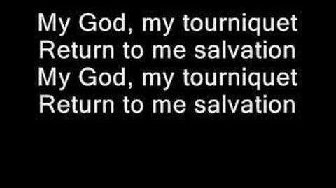 Evanescence - Tourniquet (lyrics)