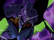 Eva 01 ataca a Sachiel0