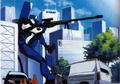 Eva-00 usando su Sniper Rifle